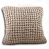Riva Home Cubic Taupe Cushion Cover - 55x55cm
