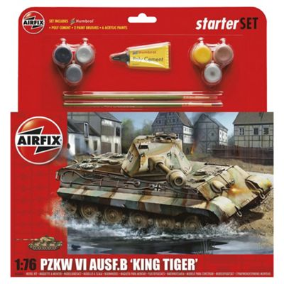 Airfix King Tiger Tank Starter Set