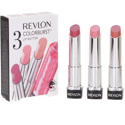 Revlon 3 Colourburst Lip Butter Set