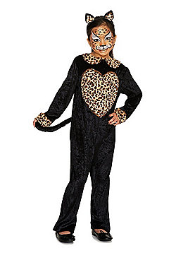 F&F Leopard Halloween Costume - Black