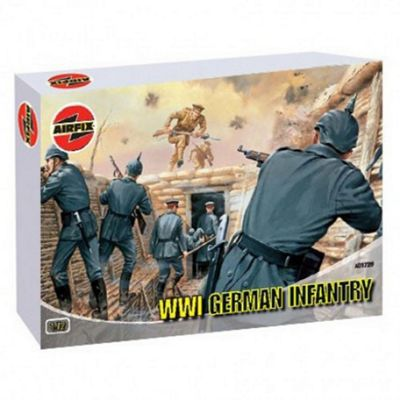 WWI German Infantry (A01726) 1:72