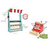Le Toy Van Shop & Cafe Honeybake and Cash Register Set