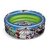 Marvel Avengers Inflatable Three Ring Paddling and Ball Pool