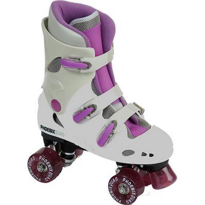 Phoenix Quad Skates - Pink - Size 12 Jnr
