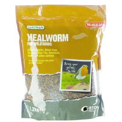 Gardman Mealworm Pouch - 1.2kg