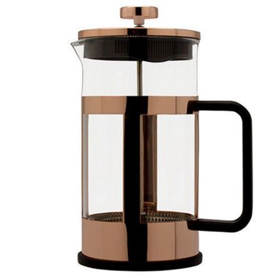 Grunwerg Cafe Ole Copper Cafetiere Coffee Maker 1 Litre