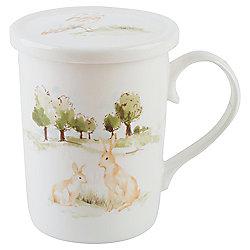 Woodland Fine China Mug infuser Gift Set