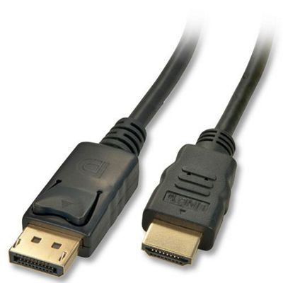 LINDY 3m DisplayPort to HDMI Cable