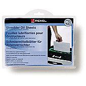 Rexel Shredder Oil Sheets (12 Pack)