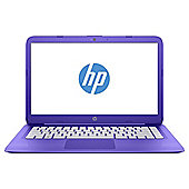 "HP 14"" Stream 14-ax002na 4GB 32GB with Office 365 and 1TB OneDrive Storage Purple"