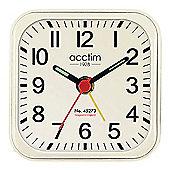 Acctim 14992 Malden Alarm Clock - Cream