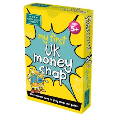BrainBox My First UK Money Snap Card Game