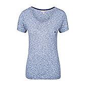 Mountain Warehouse Thurlestone Womens Stripe Short Sleeved Top ( Size: 16 )
