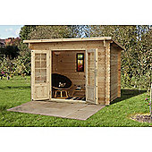 Forest Garden Harwood Log Cabin 3.0m x 2.0m