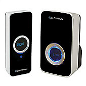 Lloytron B7505BK 150M 32 Melody Plug-In Wireless Door Chime Kit - Black