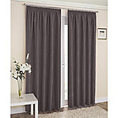 Enhanced Living Galaxy Pencil Pleat Curtains - Grey