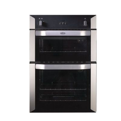 Belling BI90G Double Gas Oven Stainless Steel