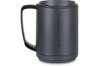 Lifeventure 350ml Ellipse Insulated Mug Graphite