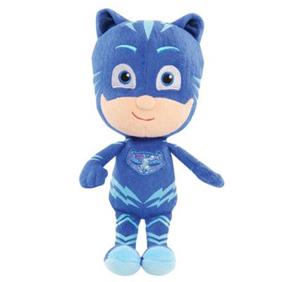PJ Masks 20cm Beanie Soft Toy - Catboy
