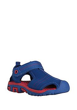 F&F Neoprene Trekker Sandals - Navy/Red