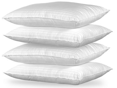 Happy Beds Luxury Cotton Pack of 4 Pillows