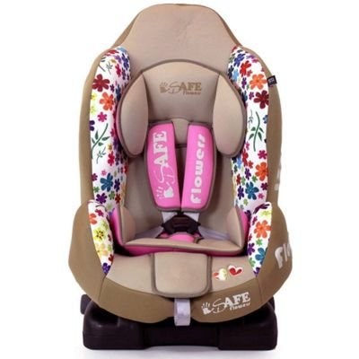 iSafe Group 1 ISOFIX Car Seat (Flowers)