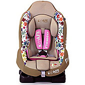 iSafe Group 1 ISOFIX Car Seat (Flowers)