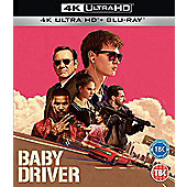 Baby Driver Bluray & 4K