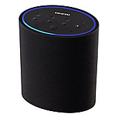 Onkyo-VCPX30 Smart Speaker with Built-In Microphone for Amazon Alexa and WiFi in Black