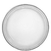 Clear Plates - 23cm Plastic Party Plates - 24 Pack