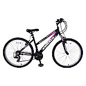"Ammaco Colorado Womens 26"" Wheel Front Suspension 18"" Frame Black"