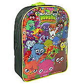 Moshi Monsters 'Gang' Black PVC Front Backpack