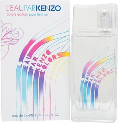 Kenzo L'Eau Par Kenzo Colors Edition Pour Femme Eau de Toilette (EDT) 50ml Spray For Women