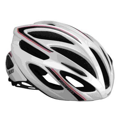 BBB BHE-25 - Griffon Helmet (White & Red, 55-58cm)