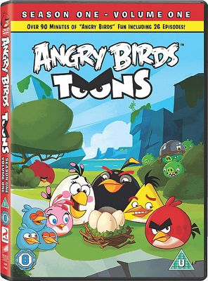 Angry Birds Toons - Volume 1 Dvd
