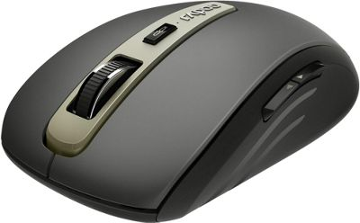 Rapoo MT350 Multi-mode Wireless Optical Mouse - Black
