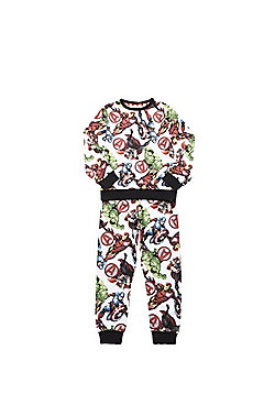 Marvel The Avengers Twosie Pyjamas - White
