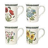 Portmeirion Botanic Garden Set of 4 Mugs