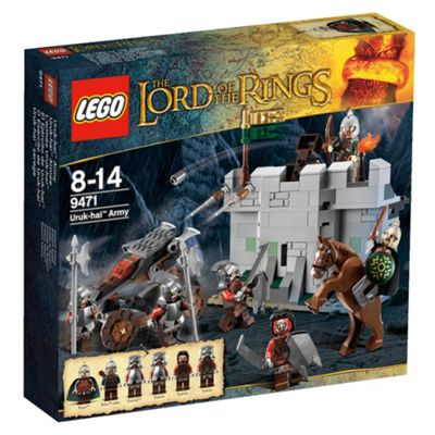 LEGO Lord of the Rings Uruk-hai Army 9471