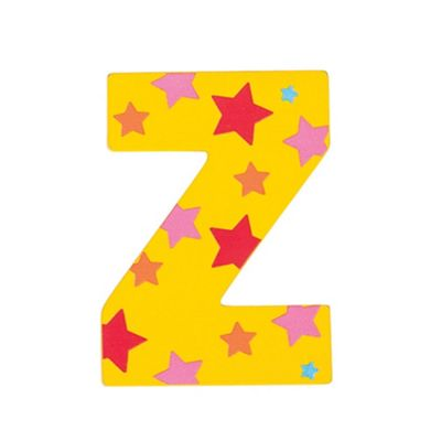 Bigjigs Toys Star Letter Z (Yellow)