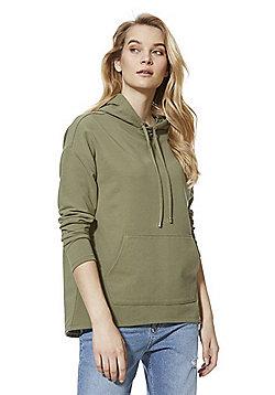 F&F Jersey Hoodie - Khaki