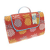 Country Club Jumbo Picnic Blanket, 150 x 200cm, Pineapple Red