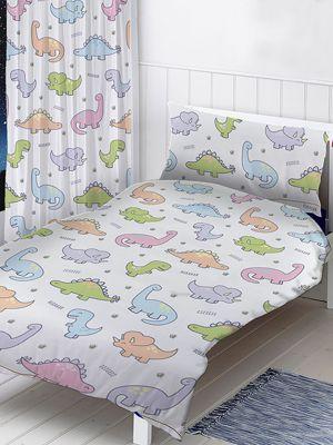 Dinosaurs Junior Duvet Cover and Pillowcase Set