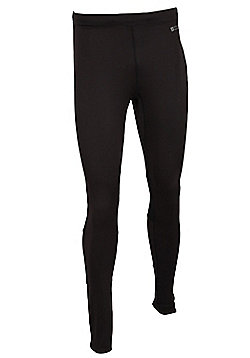 Mountain Warehouse Winter Sprint Mens Full Length Running Tights - Black