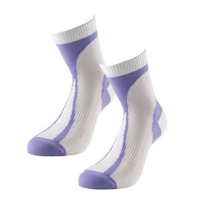 1000 Mile Race Womens Lightweight Running Sock (Pair) White, UK 3-5.5