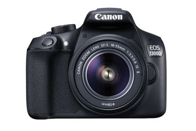 Canon 1300D EOS DSLR Camera + 18-55 EF-S IS II F3.5-5.6 Lens