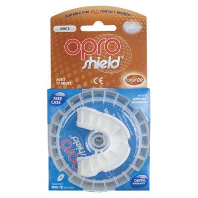 Opro Mouthguard Bronze White
