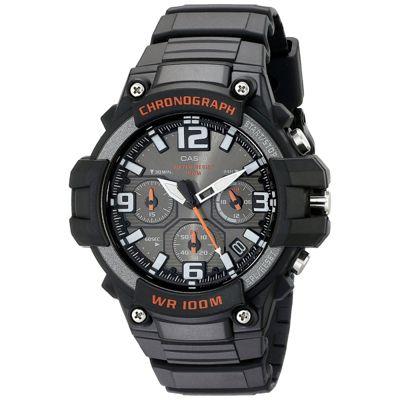Casio MCW-100H-1AVEF Men Sport Chronograph Watch│Quartz Movement│Timepiece│Black