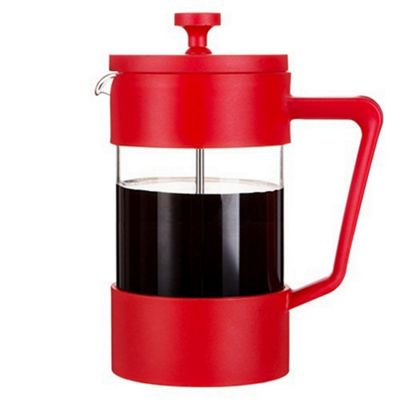 Cafe Ole Studio Cafetiere Coffee Maker 600ml in Red