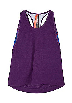 Zakti Girls Kimberly Wyatt Kids Double Take Isocool Vest with Lightweight Fabric - Purple